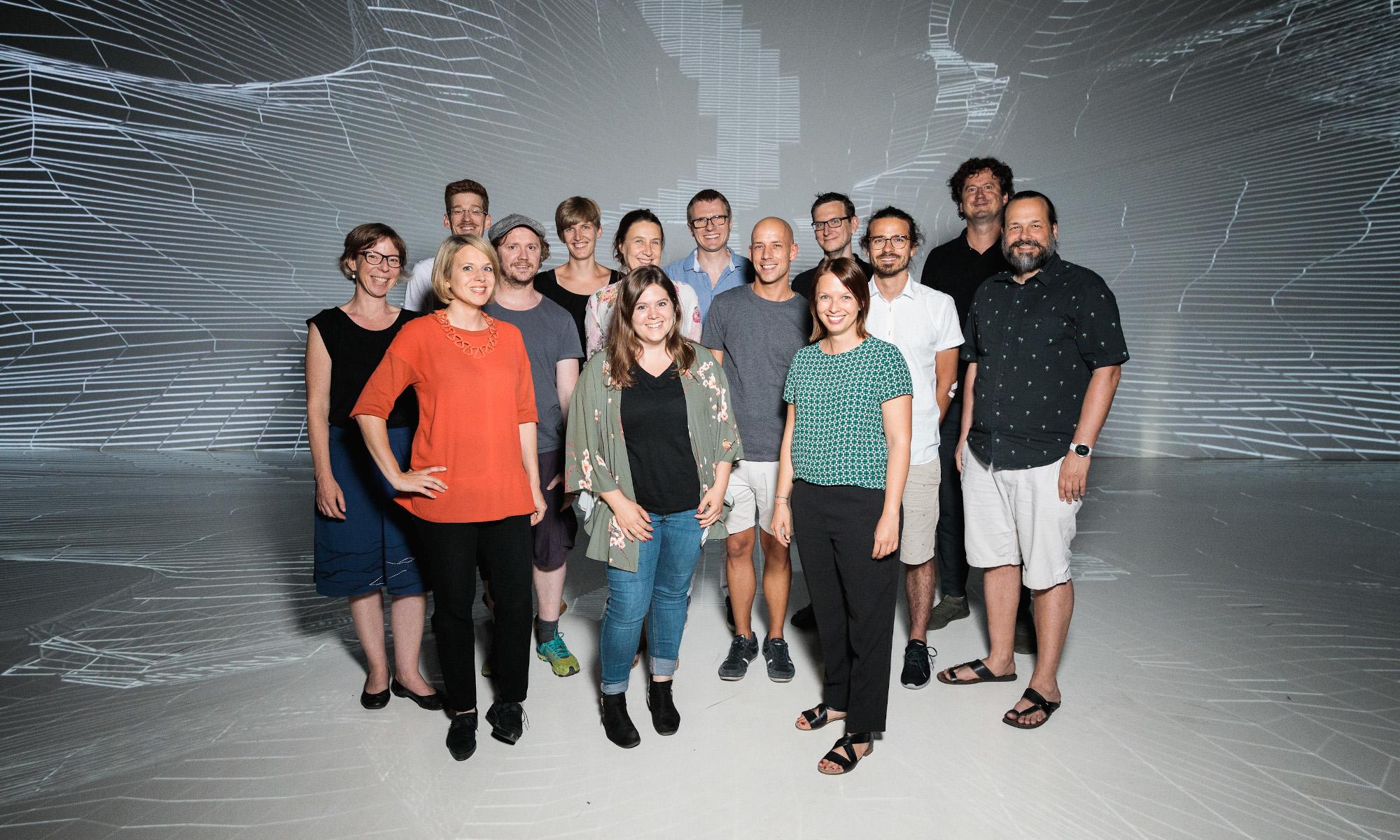 Das Projektteam von CoBot Studio